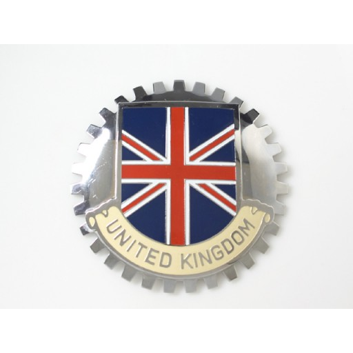 UK Grille Badge
