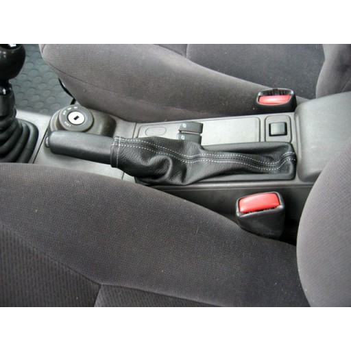 Saab Leather Emergency Brake Boot Color Black