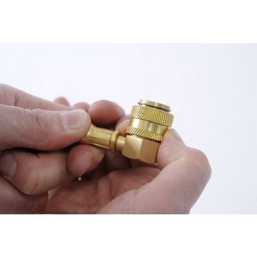 Refrigerant Charging Hose With Brass Fittings