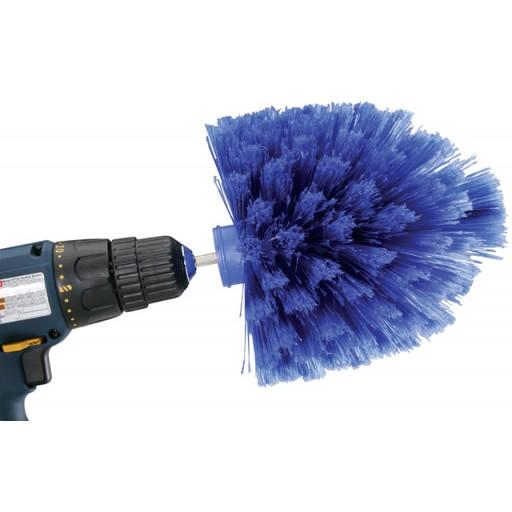 Power Drill Bit Wheel Cleaning Brush