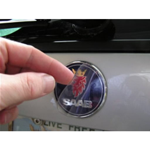 stateofnine 2006 2010 saab 9 3 sport combi wagon trunk emblem armor rear. Black Bedroom Furniture Sets. Home Design Ideas