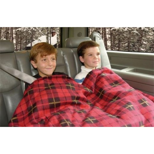 RED PLAID 12V ELECTRIC BLANKET