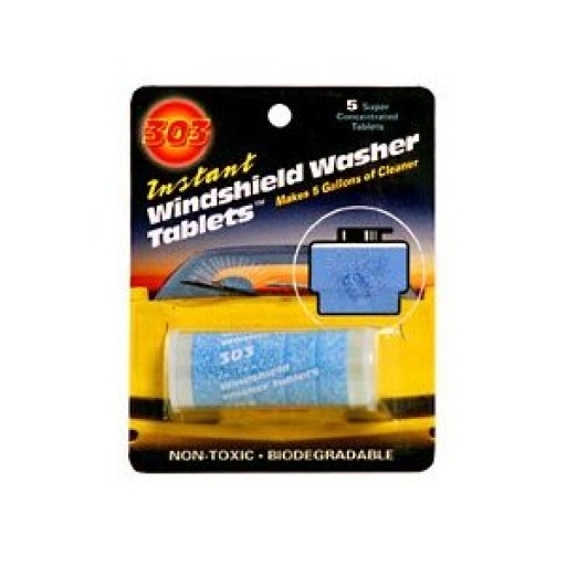 303 Instant Windshield Washer Tablets (5 Per Pack)