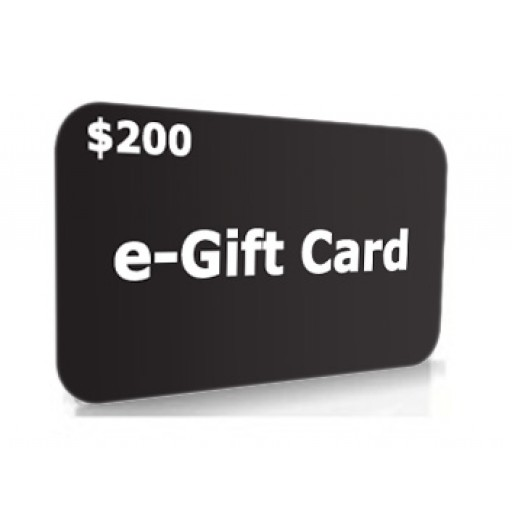 $200.00 e-Gift Card