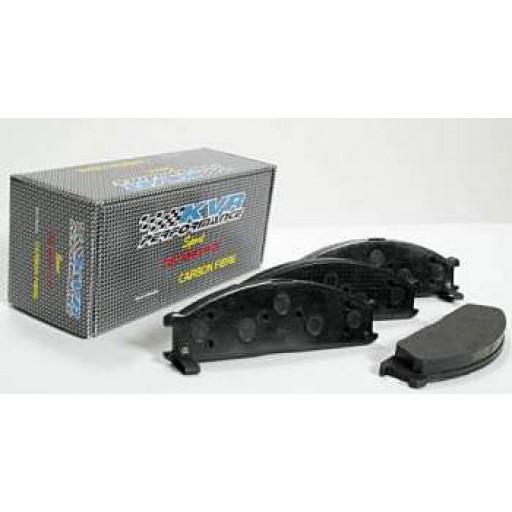 Carbon Fiber Brake Pads - Front