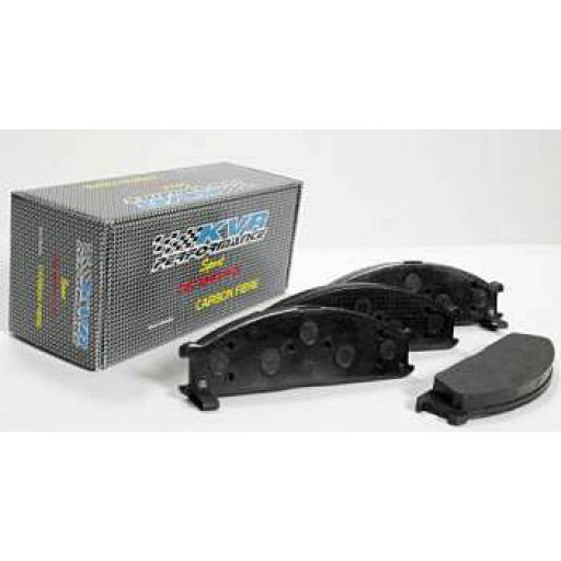 Carbon Fiber Brake Pads - Rear