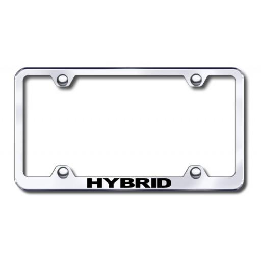 Hybrid Logo Custom License Plate Frame