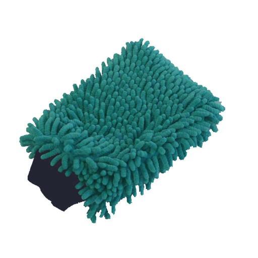 MrzAccessories Micro-Chenille Light Blue Wash Mitt