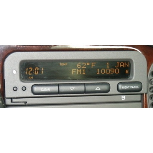 Reconditioned Saab SID (System Information Display)