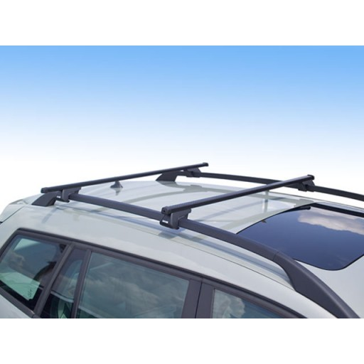 2006-2011 Saab 9-3 Sport Combi (w/Roof Rails) Wagon Roof Rack Kit