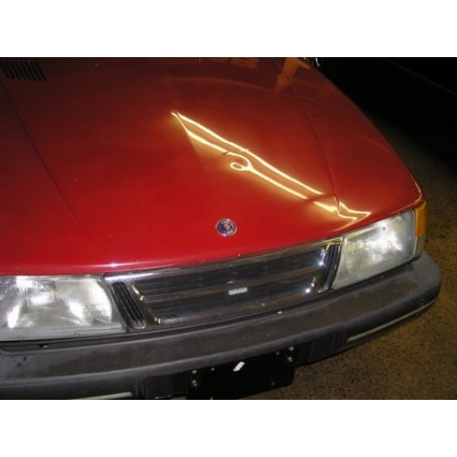 1986-1994 Saab 900 Convertible Hood Badge (Front)