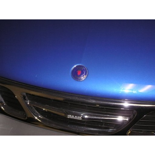1999-2000 Saab 9-5 Wagon Hood Badge (Front)