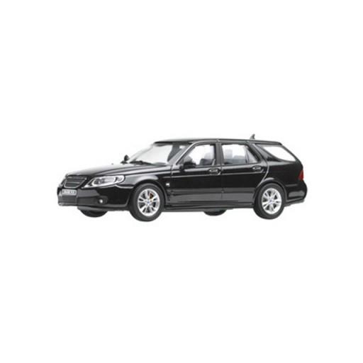 Saab 9-5 Wagon Jet Black 1:43