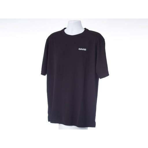 Active Tee Black Saab - XXX-Large