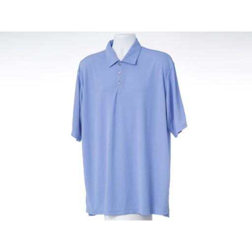 Mens Blue Golf Shirt