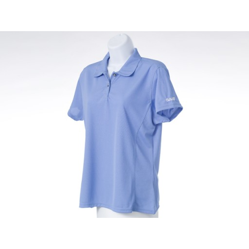 Ladies Blue Golf Shirt
