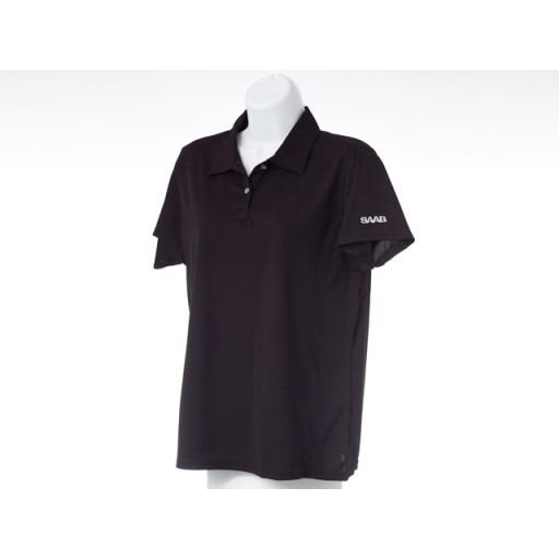 Ladies Black Golf Shirt