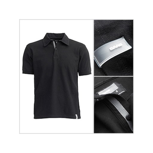 Saab Twill Polo Black