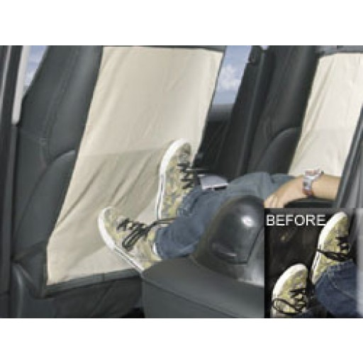 Back seat child kick protector