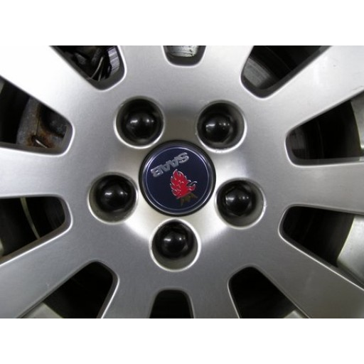 5 Bolt Wheels Black Lug Nut Caps (Set of 20)