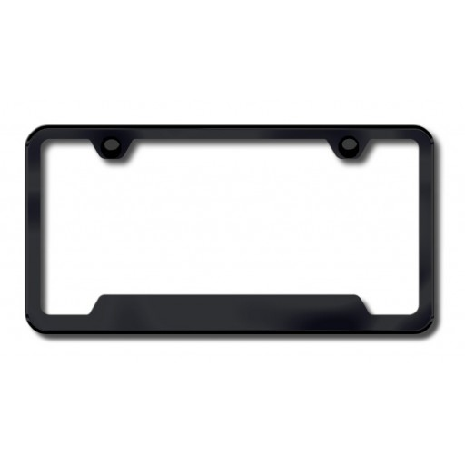 Plain Custom License Plate Frame