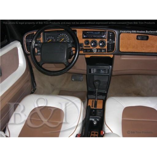 1987-1993 Saab 900 2 Door, 4 Door Dash Kit