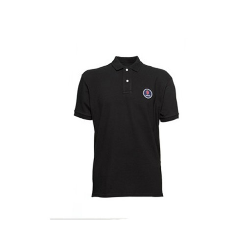 Jet Black Polo Shirt - Extra Small
