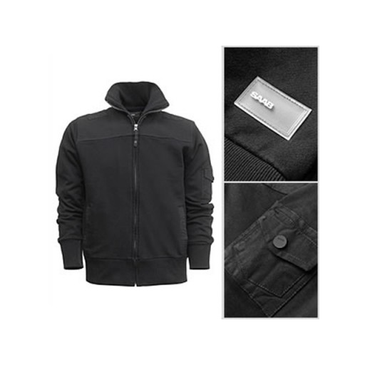 Saab Canvas Zip Jacket