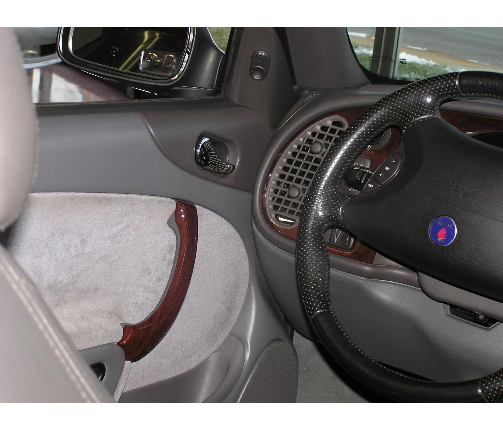 Stateofnine Custom Reproduction Wooden Saab Door Pulls