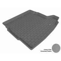 2003 - 2011 Saab 9-3 Sedan Custom-fit Gray 3D Digital Molded Cargo Liner Mat