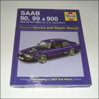 1979-1993 Saab 90,99, Classic 900 Repair Manual
