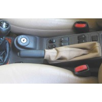 Saab Leather Emergency Brake Boot Color Tan/Beige