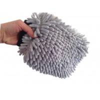 Grey Micro-chenille Wash Mitt