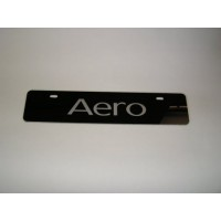 Aero Euro Vanity Plate