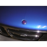1999-2000 Saab 9-3 Convertible Hood Badge