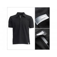 Saab Twill Polo Black