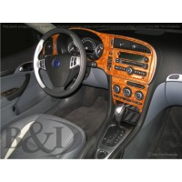 2007-2011 Saab 9-3 Sedan, Combi, Convertible Dash Kit