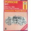 Porsche 911 65-89 Coupe Targa & Cabriolet Repair Manual