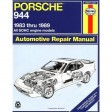 Porsche 944: Automotive Repair Manual--1983 Thru 1989