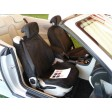 2004-2011 9-3 Convertible Microfiber Suede Seat Cover Set
