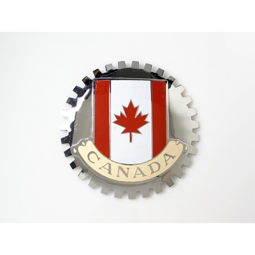 Canada Grille Badge
