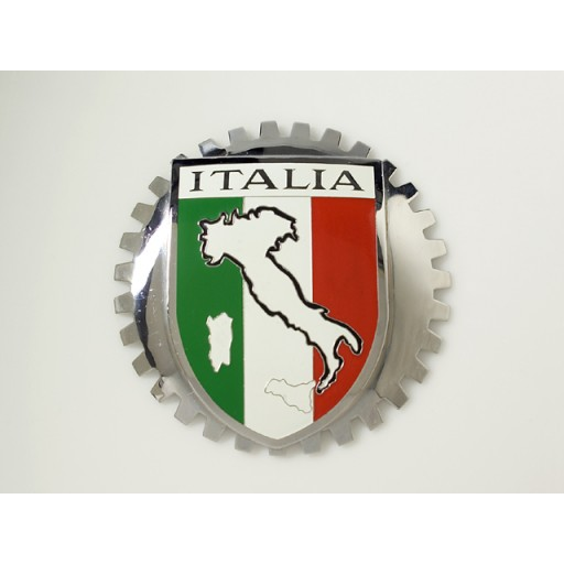 Italy Grille Badge