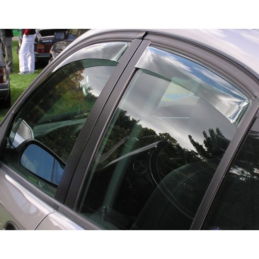 1999-2009 9-5 Sedan & Wagon Front and Rear Side Window Deflectors (Adhesive)