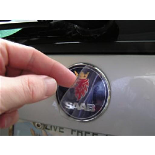 2001-2009 Saab 9-5 Wagon Trunk Emblem Armor (Rear)