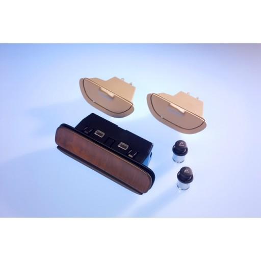 Saab 9-5 Wood Ash Tray Kit (Wood)