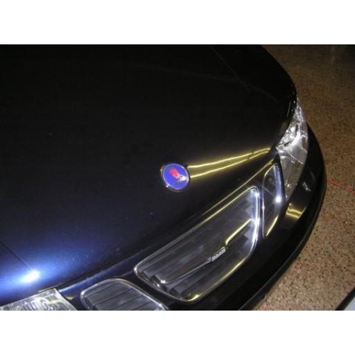 2001-2003 Saab 9-3 Convertible Hood Badge (Front)