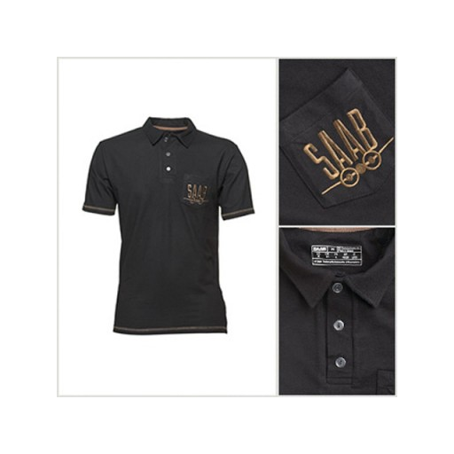 Retro Polo Black