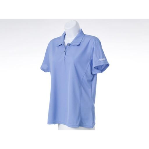 Ladies Blue Golf Shirt - Large