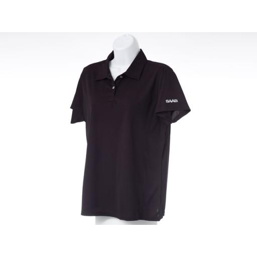 Ladies Black Golf Shirt