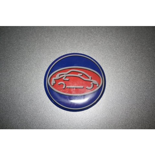 1994-1998 Saab 900 Convertible without Reflector SON Trunk Emblem (Rear)
